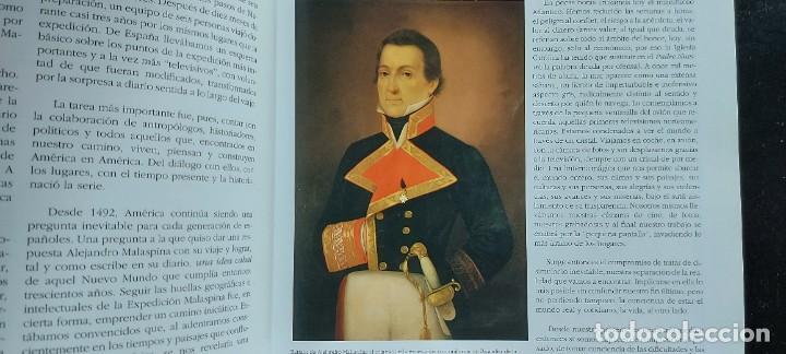 Libros de segunda mano: TRAS LAS HUELLAS DE MALASPINA - CRONICA DE UNA EXPEDICIÓN CIENTÍFICA ESPÑAOLA - 2002 - JOSÉ DE LA SO - Foto 7 - 288143318