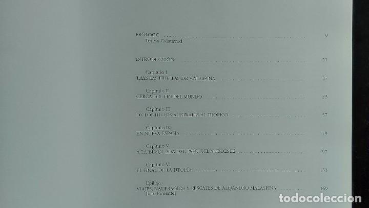 Libros de segunda mano: TRAS LAS HUELLAS DE MALASPINA - CRONICA DE UNA EXPEDICIÓN CIENTÍFICA ESPÑAOLA - 2002 - JOSÉ DE LA SO - Foto 8 - 288143318