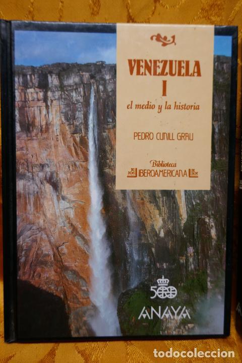 Libros de segunda mano: VENEZUELA TOMOS I y II - PEDRO CUNILL GRAU - BIBLIOTECA IBEROAMERICANA - ANAYA - Foto 2 - 288548608