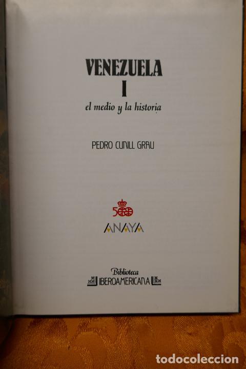 Libros de segunda mano: VENEZUELA TOMOS I y II - PEDRO CUNILL GRAU - BIBLIOTECA IBEROAMERICANA - ANAYA - Foto 5 - 288548608