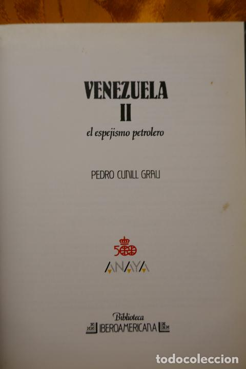 Libros de segunda mano: VENEZUELA TOMOS I y II - PEDRO CUNILL GRAU - BIBLIOTECA IBEROAMERICANA - ANAYA - Foto 17 - 288548608