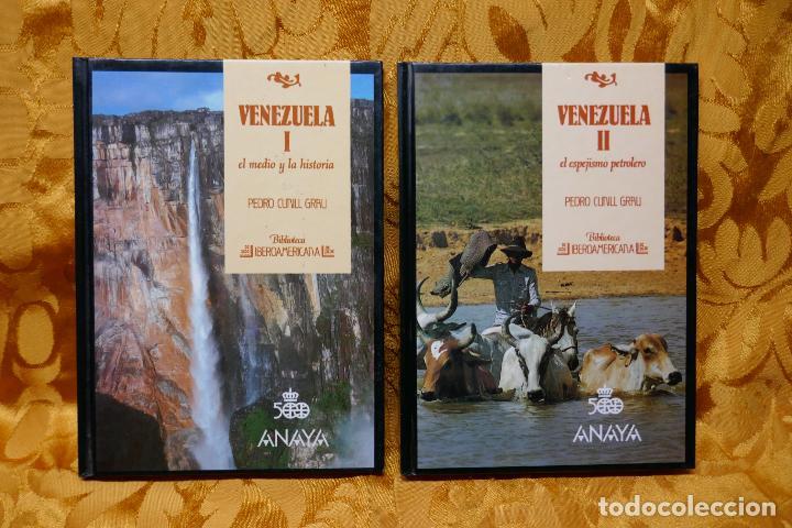 VENEZUELA TOMOS I Y II - PEDRO CUNILL GRAU - BIBLIOTECA IBEROAMERICANA - ANAYA (Libros de Segunda Mano - Geografía y Viajes)