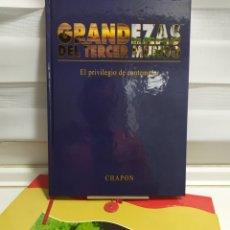 Libros de segunda mano: GRANDEZAS DEL TERCER MUNDO. EL PRIVILEGIO DE CONTEPLAR. CHAPON. RAUL HERRANZ MARTIN. 1ª EDICION. Lote 288582223