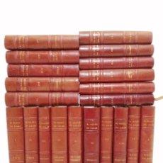 Libros de segunda mano: EL MUNDO EN COLOR, ED. CASTILLA, 1958 AL 1961, (21 TOMOS DE 23 TOTALES, FALTAN EL 19 Y 20), TAPA PIE. Lote 289551423