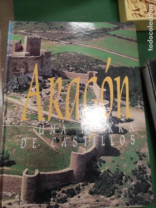 ARAGÓN - UNA TIERRA DE CASTILLOS - PRENSA DIARIA DE ARAGÓN (Libros de Segunda Mano - Geografía y Viajes)