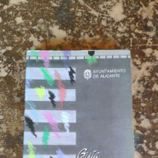 Libros de segunda mano: ALICANTE, GUIA DEL CIUDADANO 1987 (AYUNTAMIENTO DE ALICANTE). Lote 289698708