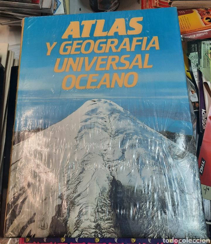 ATLAS GEOGRAFICO UNIVERSAL. OCÉANO. SIN ABRIR (Libros de Segunda Mano - Geografía y Viajes)