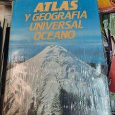 Libros de segunda mano: ATLAS GEOGRAFICO UNIVERSAL. OCÉANO. SIN ABRIR. Lote 289704418
