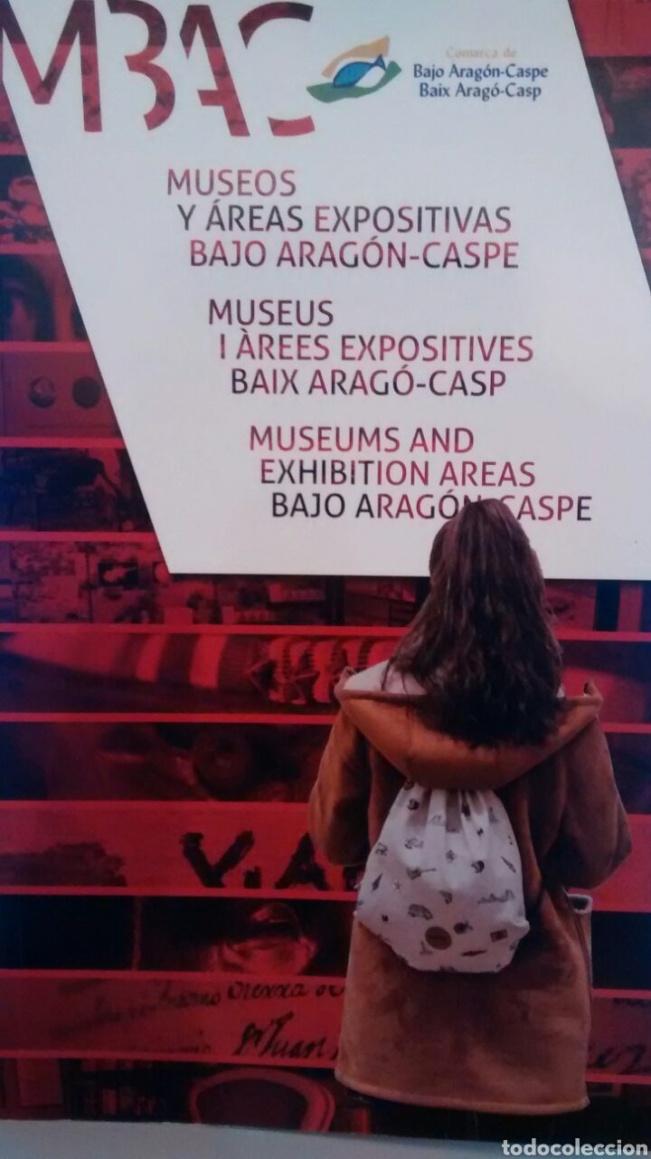 MUSEOS Y AREAS EXPOSITIVAS BAJO ARAGON-CASPE (Libros de Segunda Mano - Geografía y Viajes)