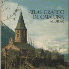 Libros de segunda mano: ATLAS GRAFICO DE CATALUÑA. AGUILAR. A-ATLA-200. Lote 289879358