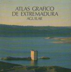 Libros de segunda mano: ATLAS GRAFICO DE EXTREMADURA. AGUILAR. A-ATLA-203. Lote 289879598