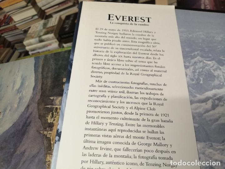 Libros de segunda mano: EVEREST . LA CONQUISTA DE LA CUMBRE . STEPHEN VENABLES. PRÓLOGO SIR EDMUND HILLARY. PLANETA. 2006 - Foto 3 - 290146323