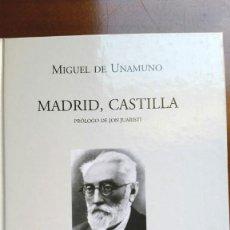 Libros de segunda mano: MADRID, CASTILLA - MIGUEL DE UNAMUNO. Lote 290716318