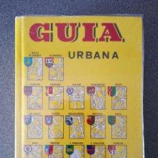 Libros de segunda mano: GUÍA URBANA MADRID. Lote 294107848
