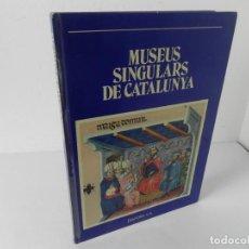 Libros de segunda mano: MUSEUS DE CATALUNYA DIÀFORA S.A. CAIXA D'ESTALVIS 1ª EDICIÓ 1979 (LIBRO EN CATALÁN. Lote 295045808