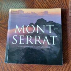 Libros de segunda mano: MONT-SERRAT DEDCRIPCION DE LA MONTAÑA Y MONASTERIO, MUCHAS FOTOGRAFIAS. Lote 295640503