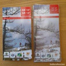 Libros de segunda mano: GR 10-GR 12, RED DE SENDEROS DEL SISTEMA CENTRAL : CASTILLA Y LEÓN-EXTREMADURA-BEIRA INTERIOR SUR. Lote 295650598