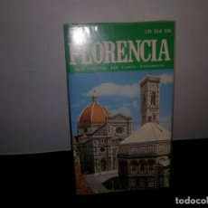 Libros de segunda mano: 50- UN BUEN DÍA EN FLORENCIA. Lote 296038938