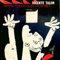 Libros de segunda mano: VICENTE TALÓN - ARDE GUERNICA. Lote 26676724