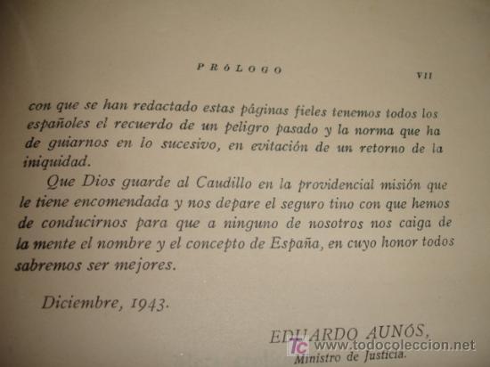 Libros de segunda mano: LA DOMINACION ROJA EN ESPAÑA. causa general - 1943 - Foto 2 - 20026665