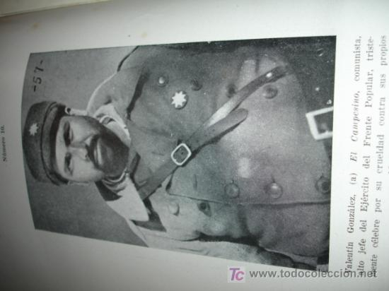 Libros de segunda mano: LA DOMINACION ROJA EN ESPAÑA. causa general - 1943 - Foto 11 - 20026665