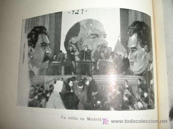 Libros de segunda mano: LA DOMINACION ROJA EN ESPAÑA. causa general - 1943 - Foto 17 - 20026665