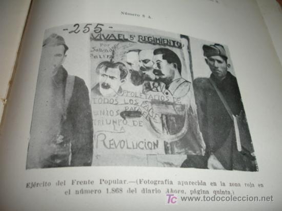 Libros de segunda mano: LA DOMINACION ROJA EN ESPAÑA. causa general - 1943 - Foto 18 - 20026665