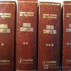 Libros de segunda mano: OBRAS COMPLETAS DE JESUS MARIA DE LEIZAOLA 4 TOMOS - VASCO URQA11. Lote 32471118