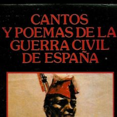 Libros de segunda mano: CANTOS Y POEMAS DE LA GUERRA CIVIL DE ESPAÑA (LLARCH, JOAN). Lote 26799889