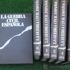 Libros de segunda mano: LA GUERRA CIVIL ESPAÑOLA. 6 TOMOS. URBION. HUGH THOMAS . Lote 27618838