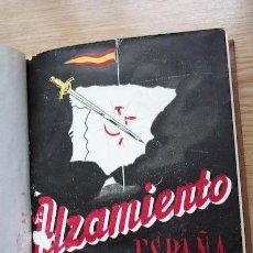 Libros de segunda mano: ALZAMIENTO EN ESPAÑA. DE UN DIARIO DE LA CONSPIRACIÓN. FÉLIX MAÍZ (B.). Lote 18163550