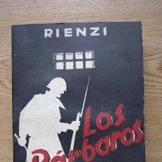 Libros de segunda mano: LOS BÁRBAROS. RIENZI. Lote 18163887