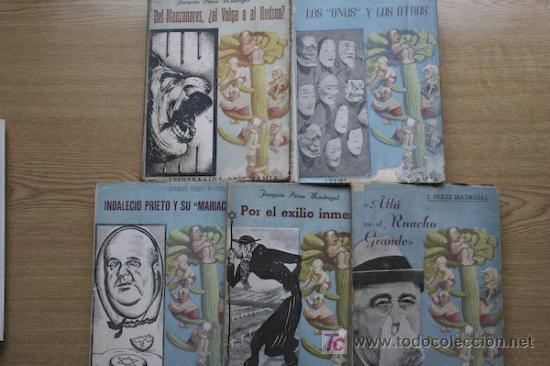 ITINERARIOS DE INFAMIA. I. ALLÁ EN EL RANCHO GRANDE. PÉREZ MADRIGAL (JOAQUÍN) (Libros de Segunda Mano - Historia - Guerra Civil Española)