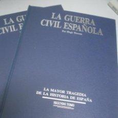 Libros de segunda mano: HUGH THOMAS: LA GUERRA CIVIL ESPAÑOLA (2 TOMOS). DIARIO 16. Lote 20384190