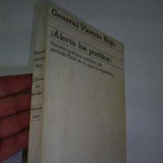 Libros de segunda mano: ¡ALERTA LOS PUEBLOS! ESTUDIO POLÍTICO-MILITAR DEL PERIODO FINAL DE LA GUERRA ESPAÑOLA ARIEL 1974 RM4. Lote 21306601