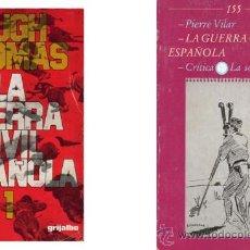 Libros de segunda mano: LOTE 2X1 LIBROS GUERRA CIVIL ESPAÑOLA. (LOT 2) . Lote 26243140