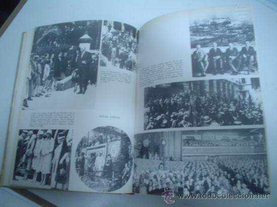 Libros de segunda mano: FERNANDO DÍAZ-PLAJA: LA ESPAÑA POLÍTICA DEL SIGLO XX EN FOTOGRAFÍAS Y DOCUMENTOS. TOMO III - Foto 2 - 25805469