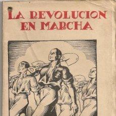 Libros de segunda mano: LA REVOLUCION EN MARCHA. UN AÑO DE FUERO DEL TRABAJO. 1939. 18X11CM. 60 P.. Lote 26608690