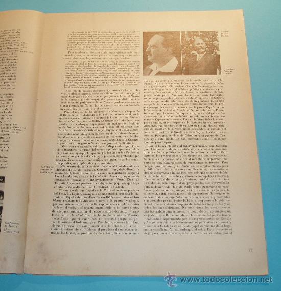 Libros de segunda mano: HISTORIA CRUZADA ESPAÑOLA. VOL. I. TOMO I. 1939. AÑOS PRECURSORES (1909 A 1923). FOTOS B/N Y LÁMINAS - Foto 5 - 27045040