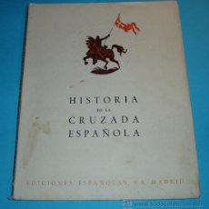 Libros de segunda mano: HISTORIA CRUZADA ESPAÑOLA. VOL. I. TOMO III. 1940. LA REPÚBLICA. QUEMA DE CONVENTOS. CONSTITUYENTE. Lote 27208697