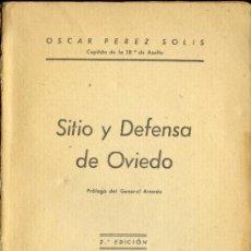 Libros de segunda mano: 1937: SITIO Y DEFENSA DE OVIEDO. Lote 28525632