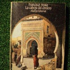 Libros de segunda mano: LA CABEZA DEL CORDERO. FRANCISCO AYALA. EDITORIAL: ALIANZA EDITORIAL. 1983. 184 PÁGINAS. . Lote 30211729