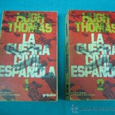 Libros de segunda mano: LA GUERRA CIVIL ESPAÑOLA POR HUCH THOMAS 1976 . Lote 30443476