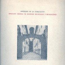 Libros de segunda mano: DIRECCION GENERAL DE REGIONES DEVASTADAS Y REPARACIONES. DOS AÑOS DE LABOR, 1940-1942. GUERRA CIVIL.. Lote 32051017