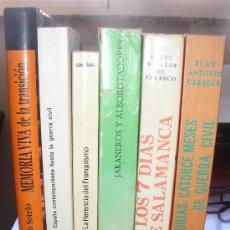 Gebrauchte Bücher - Lote 6 libros Historia España: República, Guerra Civil, Franquismo, Transición. - 32114958