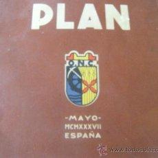 Libros de segunda mano: LIBRO. PLAN OBRA NACIONAL CORPORATÍVA. AÑO 1937. MAYO. Lote 32495318