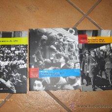 Libros de segunda mano: ATENCION TRES VOLUMENES SOBRE LA GUERRA CIVIL .-1939 AL 1943 NUEVOS . Lote 33541397