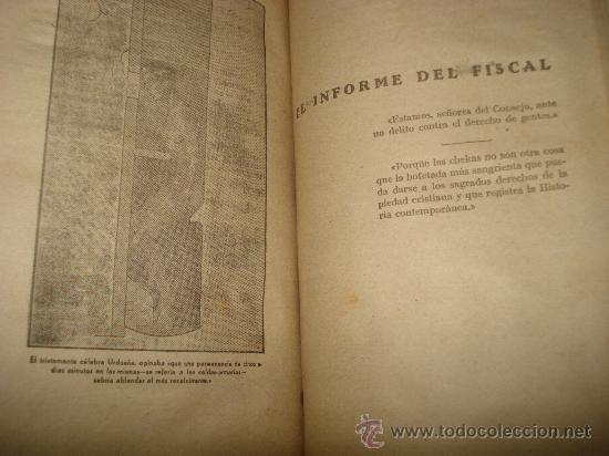 Libros de segunda mano: Antiguo POR QUÉ HICE LAS *CHEKAS* DE BARCELONA R, L. CHACON. - Foto 5 - 34651761