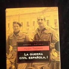 Libros de segunda mano: LA GUERRA CIVIL ESPAÑOLA. HUGH THOMAS 2 TOMOS. DEBOLSILLO. 2004 1140 PAG. Lote 35788386