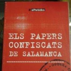 Libros de segunda mano: ELS PAPERS CONFISCATS DE SALAMANCA - SÀPIENS PUBLICACIONES . Lote 36241721